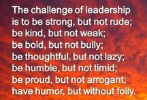 Leadership is a fancy word for serving others serving a mission / by Chastity
