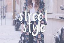 fashion on the streets . street style / Fashion from the streets.