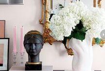 ambientes decorados ❤ / Inspiração de decoração de ambientes de casa