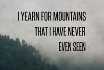 Wander / Exploration. Wilderness. Adventure.