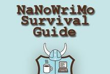 For NaNoWriMo / Inspiration, character sheets and designs and other tips