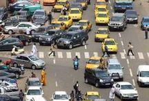 Villes Africaines / photos insolites, prises sur le vif ou atypiques des villes africaines