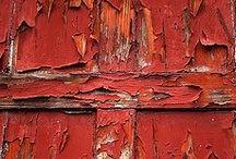 beautiful decay / rusted, peeled, scraped, decayed, washed, beat, weathered, aged, transformed, abandoned... Beauty