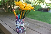 Teacher gift ideas / Creative ideas for teacher appreciation week, end of year teacher gifts and thank you gifts from kids!  Ideas for things your child can make or classroom gifts from students.