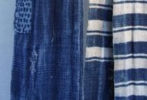 textile (indigo + turquoise) / by Brenda Holzke