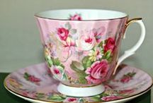vintage tea cups / by iwantedtowonder