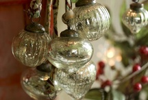 Vintage Christmas Decorations / Vintage Christmas Decorations | Green | Organic | Ethical | Recycled