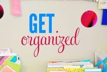 ORGANIZATION / A collection of organization tips and ideas...an organizational oasis! / by Sincerely,Paula~A Lifestyle Blog