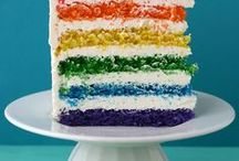 RAINBOWS / A collection bursting with all the colors of the rainbow! From recipes to crafts you'll be sure to get your color on with these ideas! / by Sincerely,Paula~A Lifestyle Blog