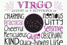 VIRGO / It's been written in the stars...all about VIRGOS! / by Sincerely,Paula~A Lifestyle Blog