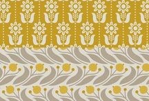Pattern & Illustration / Gorgeous patterns and illustrations