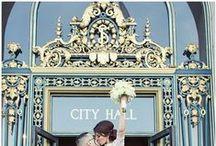 city hall wedding / by Mia Lin