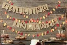 FALL-ing in Love / I LOVE fall!  / by Camryn Peterson