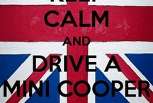 Mini Cooper Love / I love my Minbert  / by Cameron Peterson
