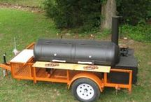 BBQ Smokers / Grill up tasty meats on any of these bbq smokers that are fit for a grand champion.