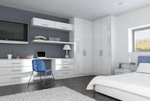 Summer Bedroom Designs / This board shows the trendiest and most inspiring summer bedroom designs, selected by Kitchen Door Hub.