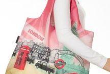 Reusable Shopping Bag / No More Plastic Bags - Choose Stylish Reusable Shopping Bags instead!