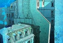 Paris rooftops inspiration