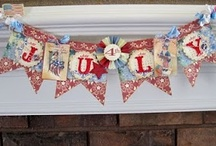 PATRIOTIC BANNERS / PATRIOTIC BANNERS / by Diane Ameres