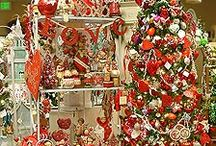 VALENTINE DAY TREES/SKIRTS / Valentine decorated trees and tree skirts / by Diane Ameres