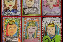 Elementary Art / Project ideas for the elementary Art classroom