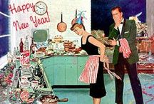 NEW YEAR FOODS / FOODS TO SERVE ON NEW YEARS / by Diane Ameres