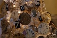 NEW YEAR TREES/SKIRTS / Decorated New years trees and tree skirts / by Diane Ameres