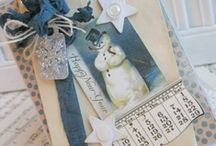NEW YEAR TAGS / Tags for new year, tags, holiday tags / by Diane Ameres