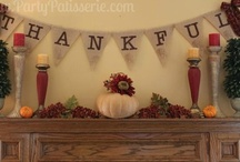 Fall & Thanksgiving / Inspiration and ideas for celebrating Thanksgiving and Fall.
