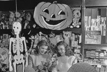 MEMORIES-OF HALLOWEEN / Vintage halloween, Halloween in the 50's & 60's, those were the days / by Diane Ameres