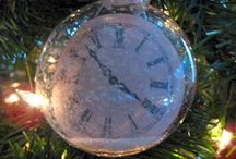 NEW YEAR ORNAMENTS / New years ornaments,  / by Diane Ameres