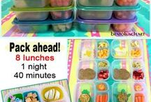 Not from the School Cafeteria / ideas, supplies and storage for lunch box meals from home
