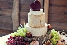 Cheese Wedding Cakes... / Need some inspiration? Look no further!
