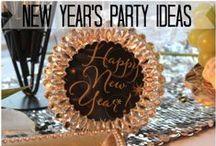 NEW YEAR PARTY IDEAS / New Year Party ideas / by Diane Ameres