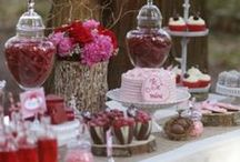 VALENTINE DAY DECORATING / by Diane Ameres