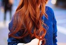 Red Hair Love / Beautiful red heads, natural red hair