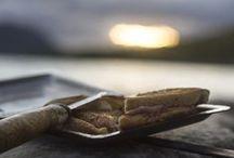 Mackjärn - smörgåsjärn / Mackjärn av stål. Egen tillverkning Eldmark - Sorsele - Lappland
