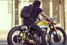Cafe Racers & Vintage / Great collection of inspiration for Cafe racers, vintage bikes, scramblers. Choose only the best...