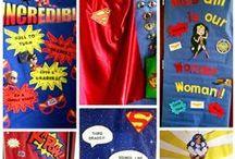 Teacher Appreciation 2016 / 2016- superhero theme
