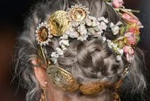 Folkster <3  hair / images of hair styles and updos that inspire us for our Folkster shoots! :) x