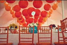 Tangerine Tango Weddings - Color of 2012 / Tangerine Tango has been named Pantone's color of the year. Perfect complement with turquoise, bright oranges and other sea foam colors for destination weddings, garden weddings and vintage weddings.