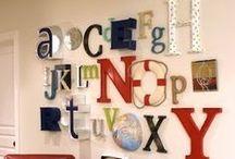 Now I Know My A, B, C's... / by Nancy Miller