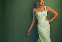 One Shouldered Wedding Dresses / Asymmetric or one shouldered wedding dresses are a unique option for the fashion forward bride.  If you want something different than the typical strapless wedding dress, SmartBride has tons of new and used one shouldered wedding dresses! http://www.smartbrideboutique.com/blog/spotted-one-shouldered-wedding-dresses/20111205/817/