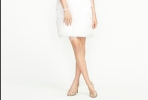 Short Wedding/Reception Dresses / Looking for a wedding dress you can kick up your heels and dance in?  Whether you want to change into a short reception dress, or want a short wedding dress that can go from ceremony to reception without skipping a beat, check out these pins! http://www.smartbrideboutique.com/blog/the-little-white-dress-ideas-for-short-wedding-dresses/20110926/769/
