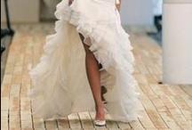 Sexy Wedding Dresses / Add a little va va voom to your wedding day with these sexy wedding dresses.  Plunging necklines, daring backs, slits and more..... http://www.smartbrideboutique.com/blog/12-sexy-wedding-dresses/20120507/890/