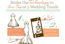 Wedding Technology - #wedtech / Use technology to save on your wedding! From online wedding classifieds, honeymoon registries and invitation designs to mobile websites and video capture - you can have your cake and eat it too!