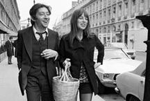 Jane et Serge / Jane Birkin and Serge Gainsbourg / by Ana