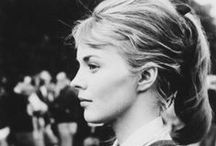 Jean and Jean / Shrimpton and Seberg / by Ana