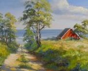 My Denmark / Hier seht ihr meinen pures Dänemark Gefühl!  Eine herrlich ruhige Landschaft - tolle Ausblicke - Natur pur! Immer wieder hat man Blick auf das Wasser, kleine Häfen, leckere Hotdogs, nette aufgeräumte Häuschen. Im Midtjyllands Kunst Center wird  eine große Auswahl meiner Gemälde gezeigt - hier gibt es wirklich viel zu sehen und lohnt eine Reise. www.ute-herrmann-kunstmalerin.de