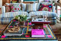 Abode. / Decor ideas for a clean, bright vibe or go eclectic, boho chic with a twist.